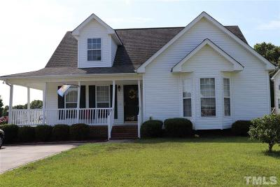 Knightdale Single Family Home Pending: 935 Troubadour Lane