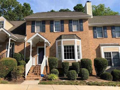 Durham Townhouse For Sale: 4216 Settlement Drive