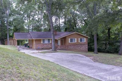 Raleigh Single Family Home For Sale: 2504 Albemarle Avenue