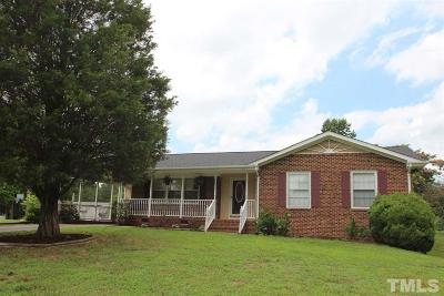 Wake Forest Single Family Home Pending: 11809 Louisburg Road