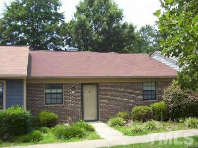 Garner Townhouse For Sale: 212 Kentucky Drive