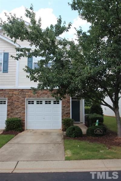 Raleigh Townhouse For Sale: 8516 Arboles Court