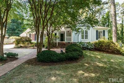 Raleigh Single Family Home For Sale: 2609 Dover Road
