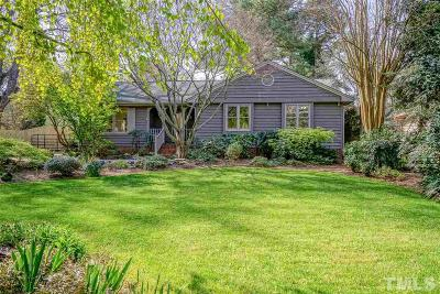 Cary Single Family Home For Sale: 108 E Cornwall Place
