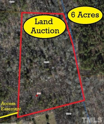 Chatham County Residential Lots & Land For Sale: 1715 Moons Chapel Church Road