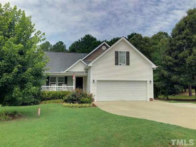 Angier Single Family Home Contingent: 417 Everland Parkway