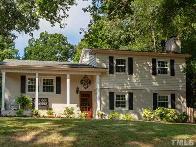 Raleigh Single Family Home Contingent: 4909 Lakemont Drive
