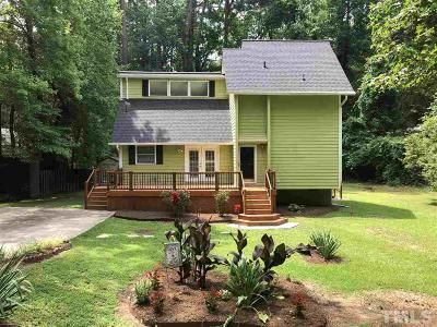 Durham Single Family Home For Sale: 1017 Stonehedge Avenue