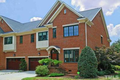 Chapel Hill Townhouse For Sale: 300 Old Franklin Grove Road