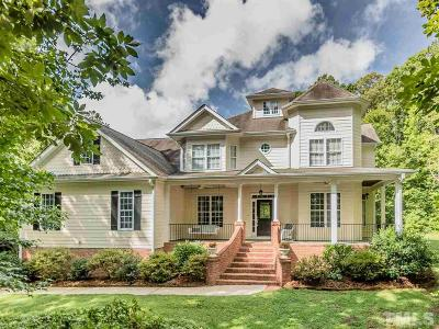 Chatham County Single Family Home For Sale: 176 Weaver Trail