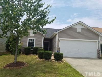 Johnston County Single Family Home Contingent: 299 Plymouth Drive