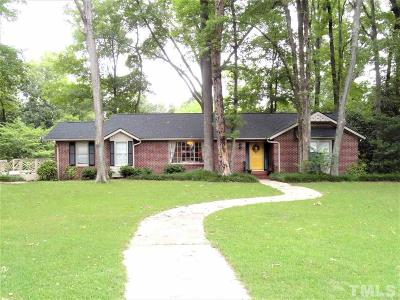Smithfield Single Family Home For Sale: 506 Rosewood Drive