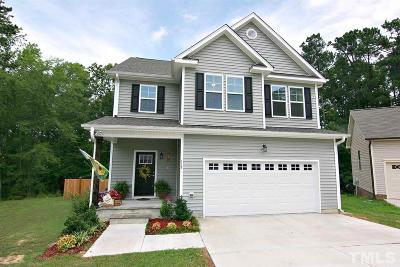 Youngsville Single Family Home Contingent: 115 Bondhu Place