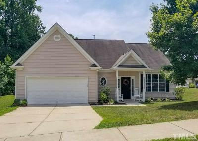 Holly Springs Single Family Home Contingent: 417 Blooming Meadows Road