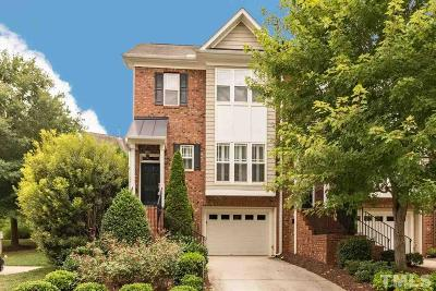 Carrboro Townhouse For Sale: 331 Rose Walk Lane