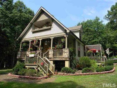 Pittsboro Single Family Home For Sale: 128 Neil Carter Drive