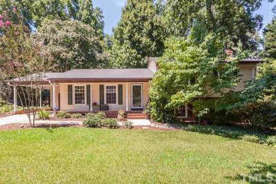 Raleigh Single Family Home For Sale: 400 North Glen Drive