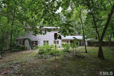 Chapel Hill Single Family Home Pending: 320 Burlage Circle