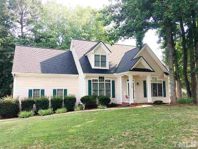 Holly Springs Single Family Home Contingent: 128 Dutch Hill Road