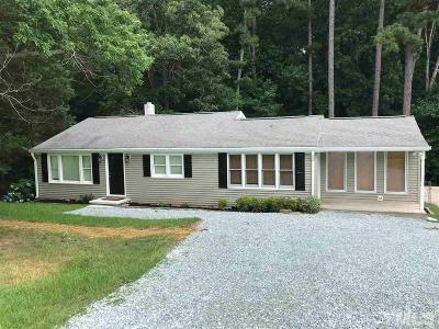 Wake Forest Single Family Home Contingent: 8332 Woodlief Road