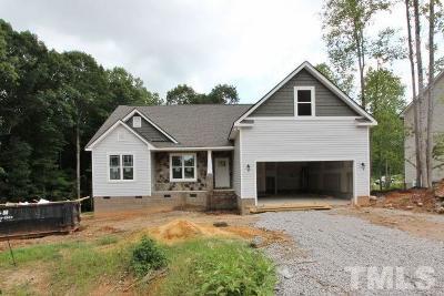Franklinton Single Family Home For Sale: 140 Hilldebrant Drive