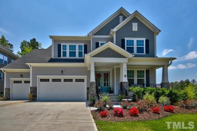 Holly Springs Single Family Home Contingent: 201 Blue Granite Drive