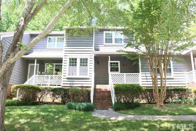 Cary Townhouse Contingent: 102 Lake Hollow Circle