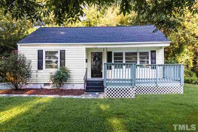 Wake County Single Family Home For Sale: 1806 Bennett Street