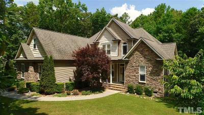 Granville County Single Family Home Contingent: 3633 Armida Drive