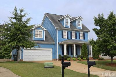 Fuquay Varina Single Family Home For Sale: 1243 Azalea Springs Court