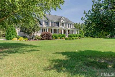 Zebulon Single Family Home For Sale: 2900 Homegrown Place