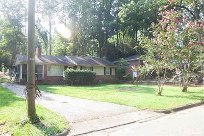 Raleigh Single Family Home For Sale: 1422 Banbury Road