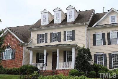 Wake Forest Townhouse For Sale: 1516 Heritage Club Drive