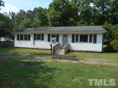Wendell Single Family Home For Sale: 1214 Nc 231 Highway