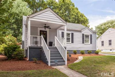 Wake County Single Family Home Contingent: 217 Dennis Avenue