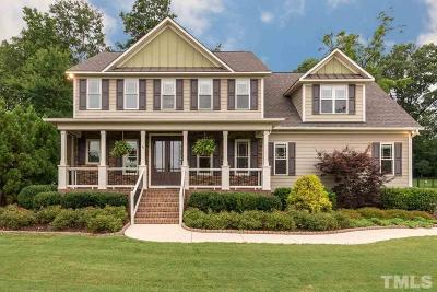 Garner Single Family Home Contingent: 41 Cinnecord Place
