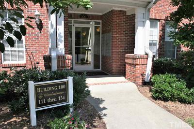 Chapel Hill Condo For Sale: 134 Providence Glen Drive #134