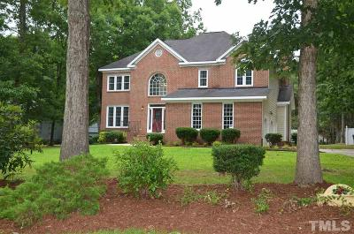 Zebulon Single Family Home Contingent: 2604 Huntdale Trail