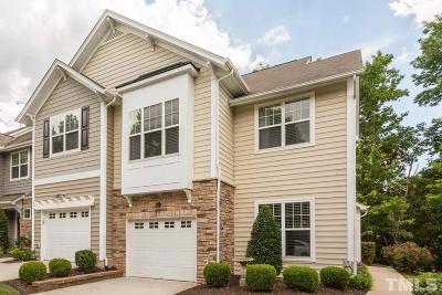 Morrisville Townhouse Contingent: 909 Grace Point Road