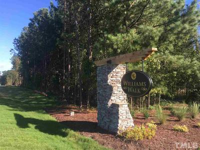 Wake Forest Residential Lots & Land For Sale: 5608 Abbey Grace Lane