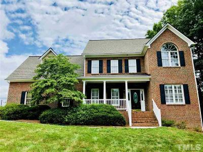 Fuquay Varina Single Family Home For Sale: 4713 Shady Greens Drive