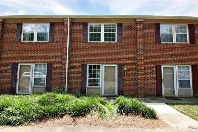 Carrboro Townhouse Pending: 141 Coleridge Court