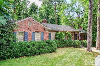 Raleigh Single Family Home For Sale: 3073 Granville Drive