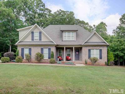 Youngsville Single Family Home Pending: 40 Lance Lane