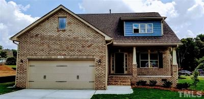 Benson Single Family Home For Sale: 132 Colonade Court #Lot 36