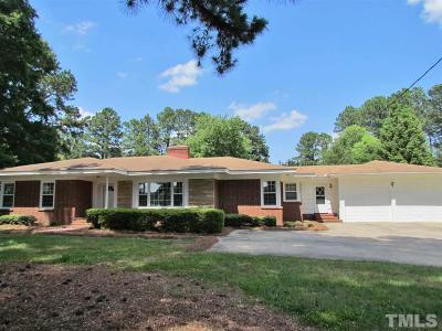 Wendell Single Family Home For Sale: 2721 Wendell Boulevard