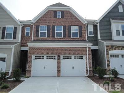 Morrisville Townhouse Pending: 4323 Pond Pine Trail
