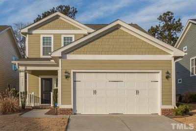 Wake Forest Single Family Home Contingent: 1123 Golden Poppy Court