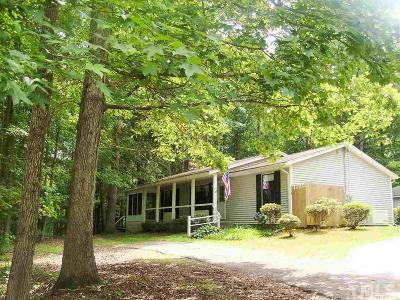 Louisburg Single Family Home For Sale: 114 Apache Drive