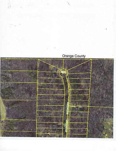 Orange County Residential Lots & Land For Sale: Green Pine Road